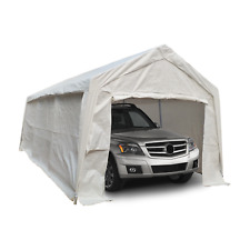 More details for kct portable carport canopy outdoor shelter cover garage canvas gazebo tent