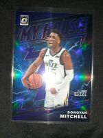 2019-20 Donovan Mitchell Optic My House Blue Holo Silver Prizm #16