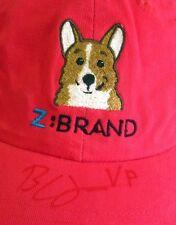 Z BRAND hot pink cap Dog women's baseball hat AMC autograph Deluxe Headware