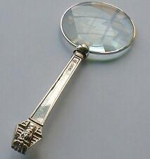 Thomas Bradbury & Son HM Silver Handle Magnifying Glass Sheffield 1925