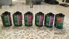 Vintage NEW Lot Of 6 Rolls Fujicolor Super HG   Five 400's + One  HR 200