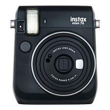 Midnight Black FujiFilm Fuji Instax Mini 70 Instant Photos Films Polaroid Camera