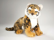 Bengal Tiger Cub by Piutre, Hand Made in Italy, Plush Stuffed Animal NWT