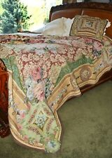 Sample of Soft Surroundings Mas La Barque Tapestry Coverlet Queen