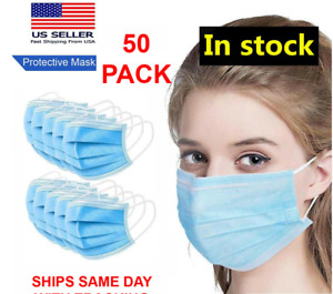 50 PCS MEDICAL Surgical Dental Disposable Mouth Cover Ear