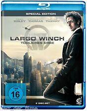 LARGO WINCH, Tödliches Erbe (Blu-ray Disc + Bonus-DVD) NEU+OVP