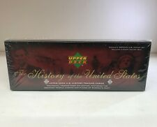 History of the United States - Sealed Trading Card Factory Box - Upper Deck 2004