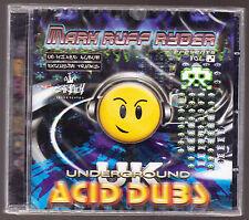 MARK RUFF RYDER (2008) - STRICTLY UNDERGROUND - ACID DUBZ - 13 TRACKS - NEW CD