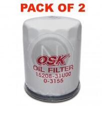 OSAKA Oil Filter Z547 - FOR Honda Accord CK CM CP CR CIVIC ES EU FD - BOX OF 2