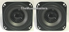 "Pair 4"" inch Dual Cone Car Stereo Audio SPEAKERS Factory OEM Style Replacements"