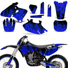 Graphic Kit Yamaha YZF 250/400/426 MX Dirt Bike Stickers Wrap Deco 98-02 ICE BLU