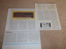 Sony Ta-F555es Amplifier Review,1983,3 pgs,Sony Es
