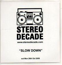 (AC581) Stereo Decade, Slow Down - DJ CD