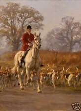 Foxhound Hunting Christmas cards pack of 10. C272X