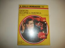 IL GIALLO MONDADORI N.1006-NUOVO SIGILLATO-J.J MARRIC-GIDEON SCOPRE L'AMERICA