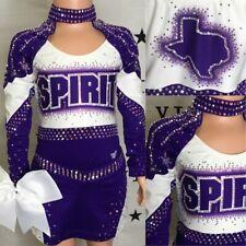 Cheerleading Uniform Allstars Spirt Of Texas  Youth M