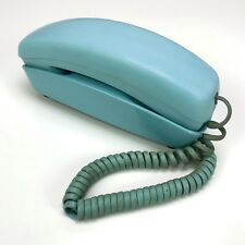 Vintage Western Electric Bell System Trimline Phone Aqua Blue 12 Button