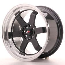 Japan Racing JR12 Alloy Wheel 17x9 - 4x100 / 4x114.3 - ET25 - Gloss Black