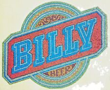 Original Billy Beer Iron On Transfer Jimmy Carter's Brother Billy Full Glitter