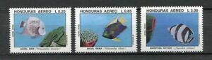 25096) HONDURAS 1993 MNH** Nuovi** Endangered Species  3v
