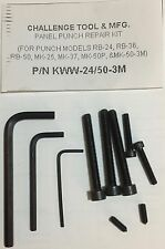 KWW-24/50-3M Panel Punch Repair Kit for RB-24/RB-36/RB-50/MK-25P/MK-37P/MK-50P