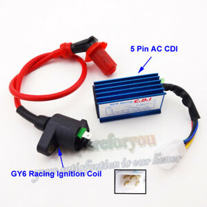 AC CDI Ignition Coil For Scooter Honda NQ50 NB50 Elite Spree SA50 CH80 DIO