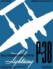 fundekals 48030 1/48 P-38E/F/G/H Lightnings Decal Set
