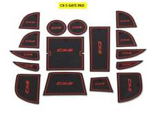 MAZDA CX-5 INTERIOR DASHBOARD MAT GATE PAD TRIM SET - 2012 - 2015 RED ONLY