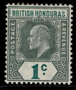 BRITISH HONDURAS EDVII SG95, 1c blue-green, M MINT. Cat £24.