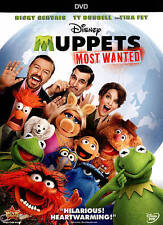 DISNEY Muppets Most Wanted DVD 2014