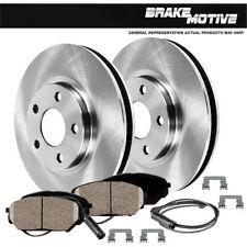 For 2006 2007 BMW 525i Front OE Disc Brake Rotors & Ceramic Pads