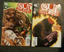 Outsiders #37 & #22 (Aug 2006 - Nov 2009 DC COMICS)