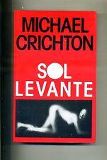 Michael Crichton # SOL LEVANTE # Edizione Club 1993 # 1A ED.