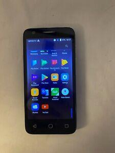 Alcatel Streak Smartphone Cricket Wireless Gray Android Phone 40600 -Read descri