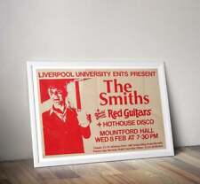 More details for the smiths print, morrissey gig poster, the smiths poster