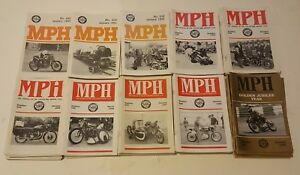Motorcycle magazines Vincent HRD owners  club 1990's