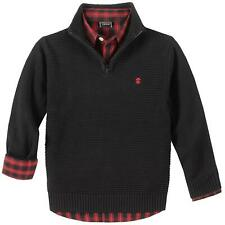 NEW Izod Boy's 2-Piece  Button Up & 1/4 Sweater Set Size Small (6/7)