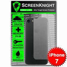 "ScreenKnight Apple iPhone 7 / 4.7"" BACK SCREEN PROTECTOR Military Shield"