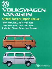 EMPI VW VANAGON  1980- 1991 BENTLEY TECHNICAL MANUAL BOOK   11-0975