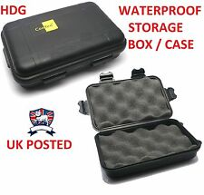 SMALL WATERPROOF AIRTIGHT STORAGE BOX GOOYOO CASE PHONE COMBAT SURVIVAL KIT/TIN