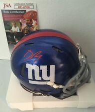 Deandre Baker New York Giants Signed Autographed Mini Helmet JSA COA N