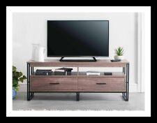 Classy TV Unit | 2 Drawers | Rustic Style | 120x45x40cm