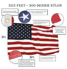 Anley [EverStrong Series] American Us Flag 3x5 Foot Heavy Duty Nylon - Stars and