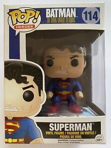 Superman Batman The dark Knight Returns #114 Funko pop! vinyl