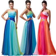 Plus Size 20+ Long Formal Evening Bridesmaid Party Prom Pageant Maxi Dress Gown