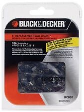 Black & Decker 8-Inch Saw Chain for Cordless Chainsaw Models CCS818 and NPP2018