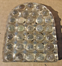 5 TOMBSTONE Bubble GLASS ROAD PAVEMENT INSERT Reflectors Bicycle Car MARBLE