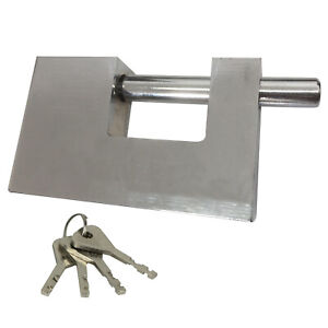 90mm Transverse Beam,Padlock, Heavy Duty for Container/Warehouse Security Lock