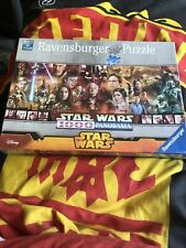 Ravensburger Star Wars 1000 Piece Panorama Jigsaw Brand New And Sealed