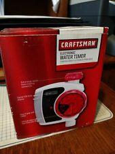 Craftsman Electronic Water Timer 69179 - New